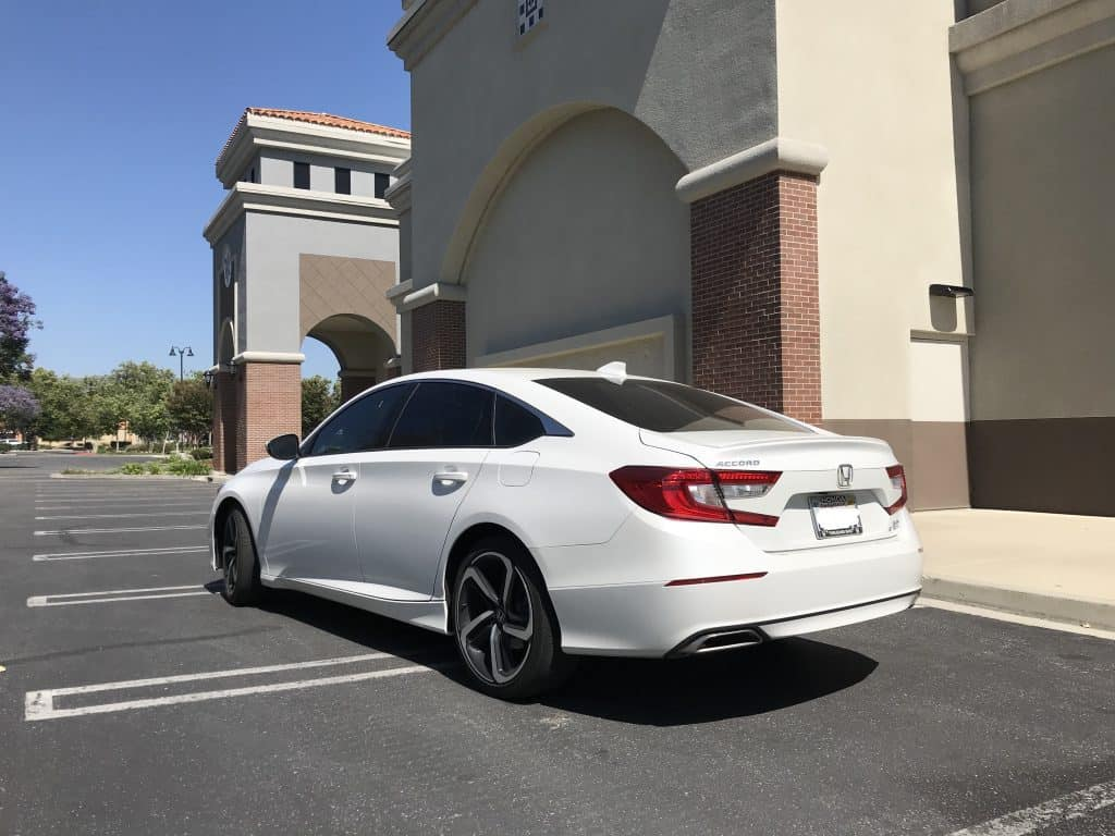 2018 Honda Accord Sport rear 3/4