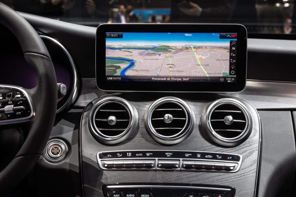 Mercedes COMAND Navigation