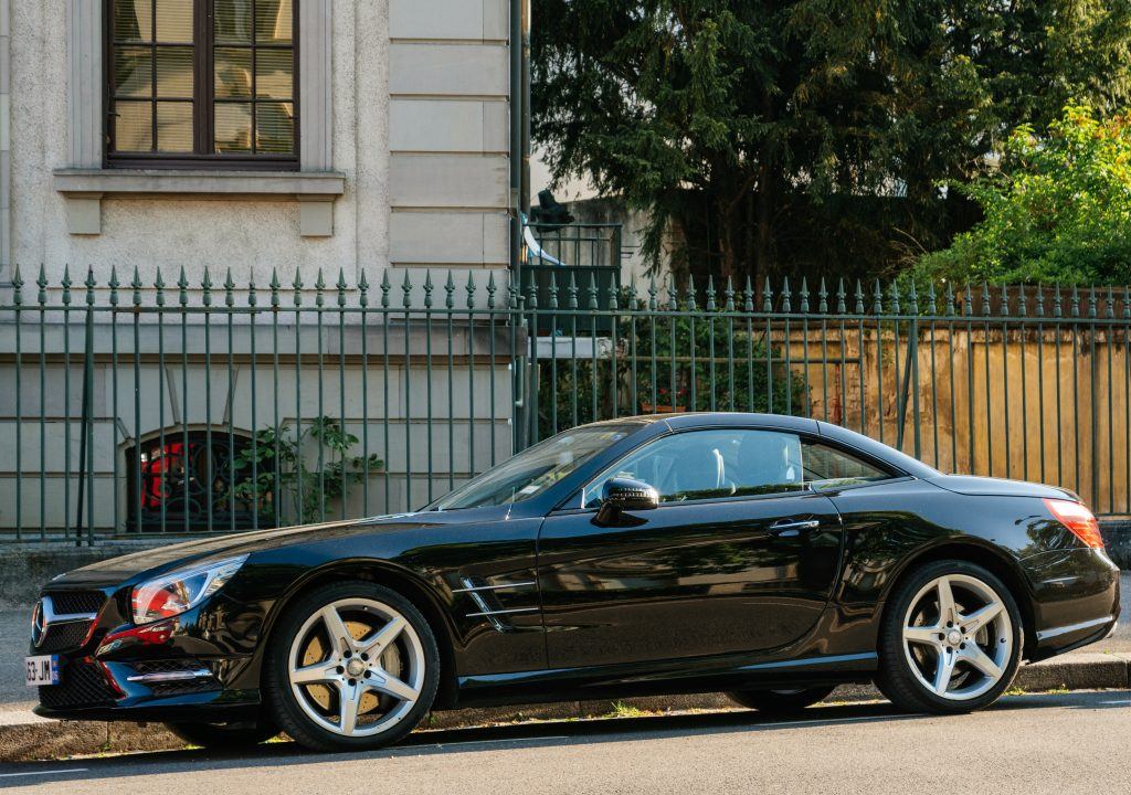Mercedes SL with Keyless Go Feature